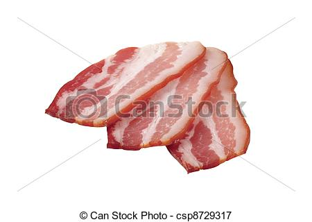 Picture of Slices of bacon.