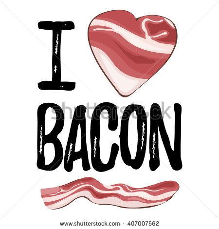 Cartoon Streaky Bacon Stock Vectors & Vector Clip Art.