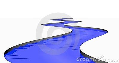 Stream Stock Illustrations.