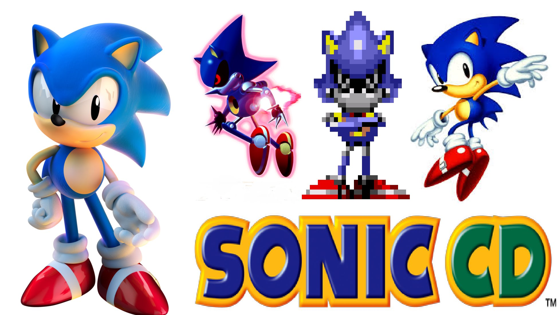 """Sonic CD Live Stream #3 """"Last stage""""(headphone warning with some."""