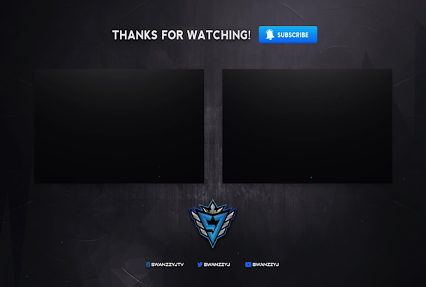 create an animated stream starting soon screen for twitch.