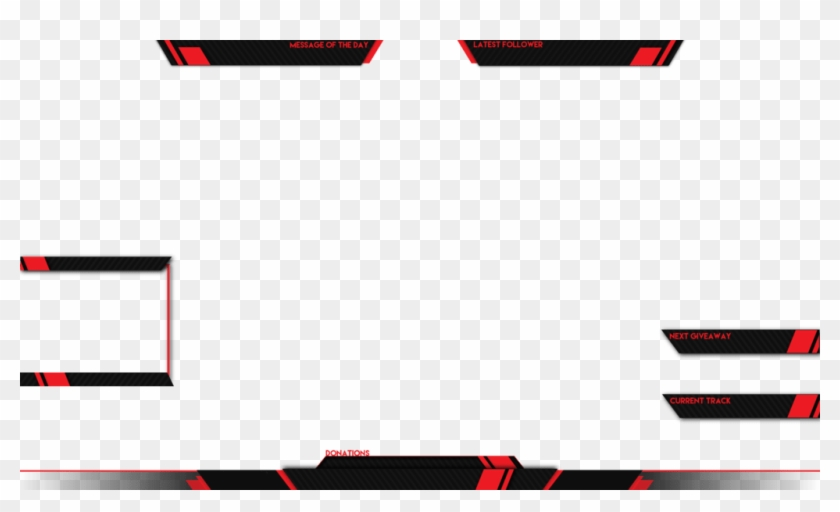 Live Stream Overlay Template Png, Transparent Png (#713371.