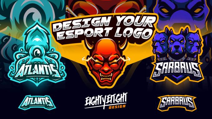 design mascot logo for streamer, youtuber, twitch, mixer.