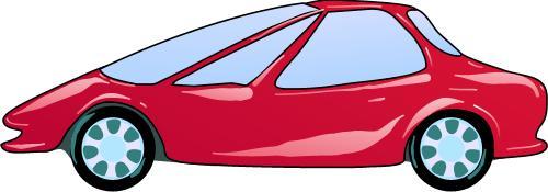 Streamlined Car; Transport.