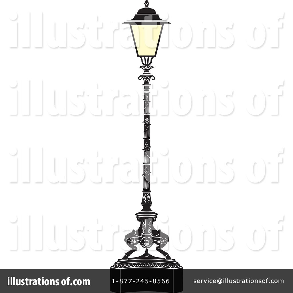 Street Lamp Clipart #44388.