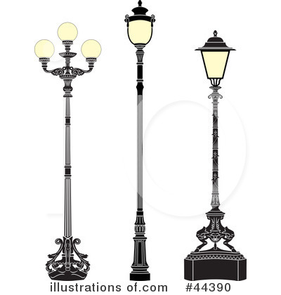 Street Lamp Clipart #44390.