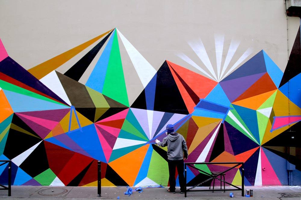 Urban street art clipart.