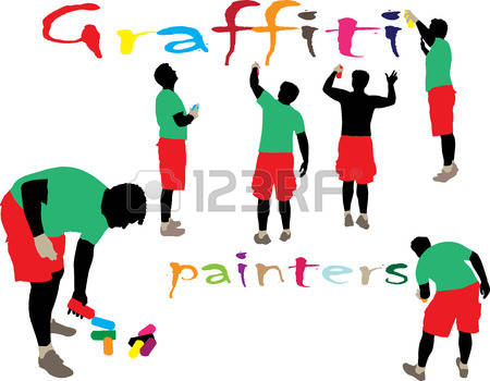 1,390 Street Artist Cliparts, Stock Vector And Royalty Free Street.