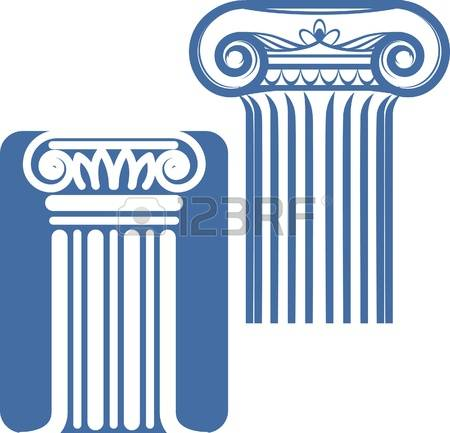 4,943 Pillar Icon Stock Vector Illustration And Royalty Free.
