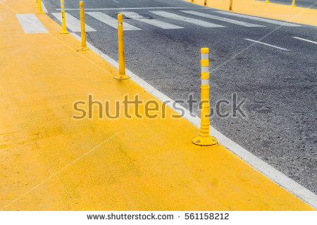 Boundary Pillar Stock Images, Royalty.