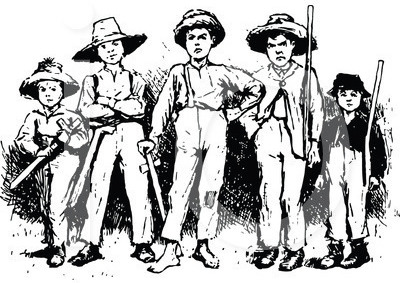 Charles M. Wallace's Boy Gangs of Richmond.