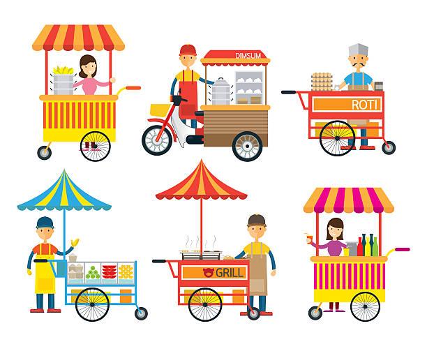 Street Carnival Clip Art, Vector Images & Illustrations.