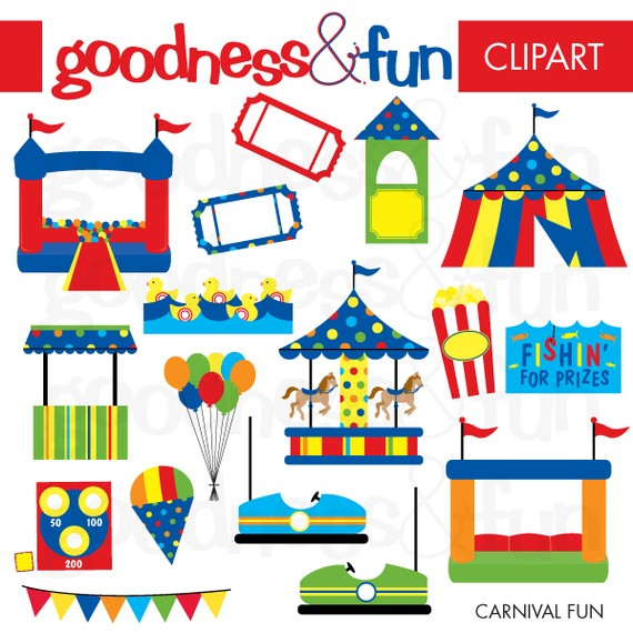Carnival booth clipart.