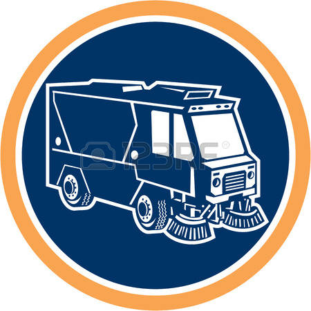 5,051 Street Cleaner Stock Vector Illustration And Royalty Free.