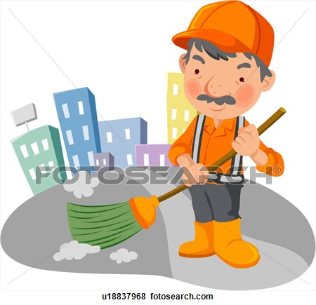 Street sweeper clipart.