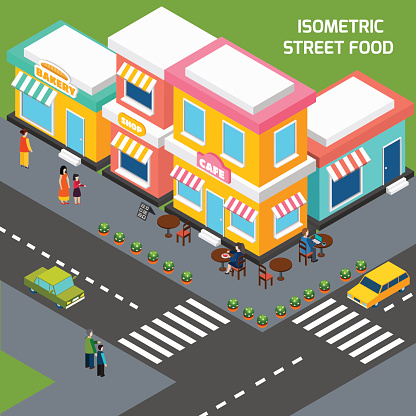 Street Corner Clip Art, Vector Images & Illustrations.