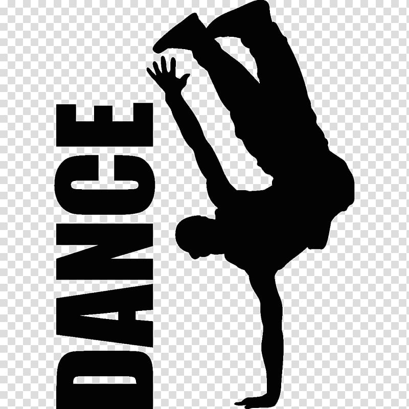 Dance silhouette , Hip.