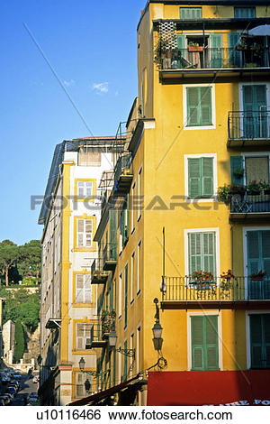 Stock Images of Briancon street detail u10116466.