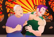 Fight Stock Illustrations.