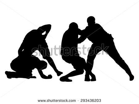 Street Fight Stock Vector Illustration 293436203 : Shutterstock.