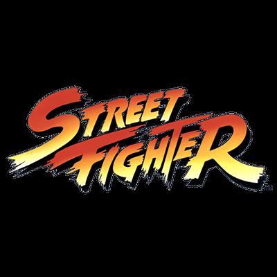 Street Fighter Logo transparent PNG.