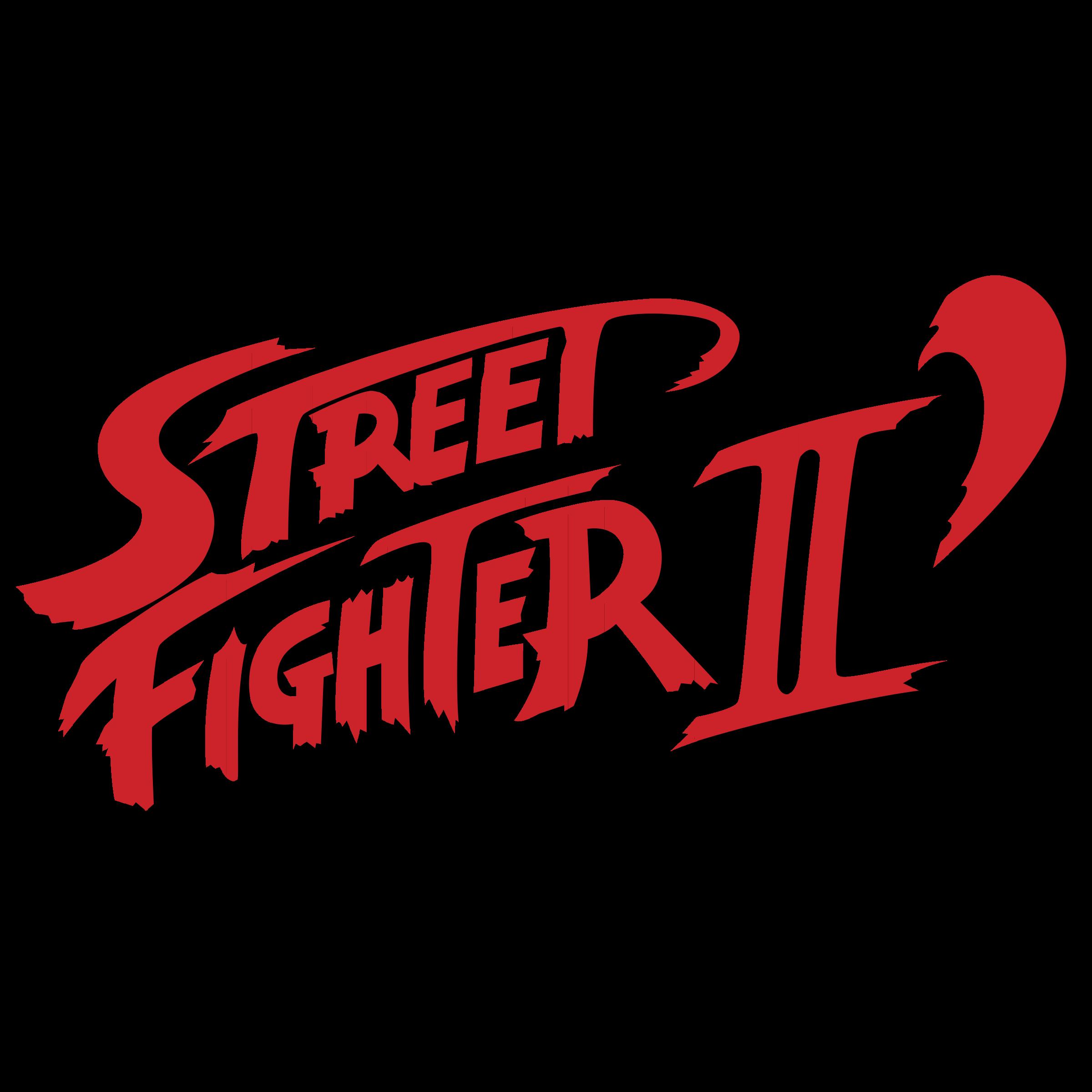 Street Fighter II Logo PNG Transparent & SVG Vector.