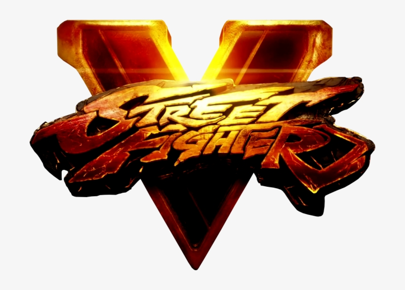 Street Fighter V Logo.