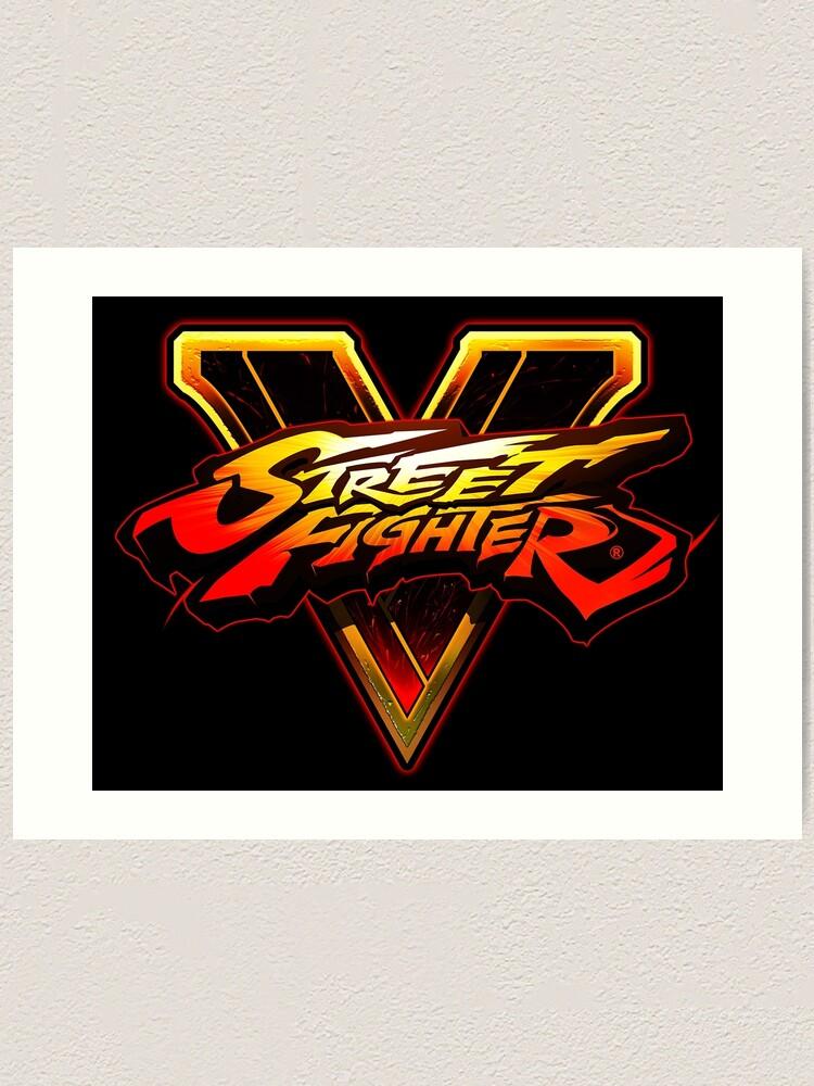 Street Fighter V Logo Design.