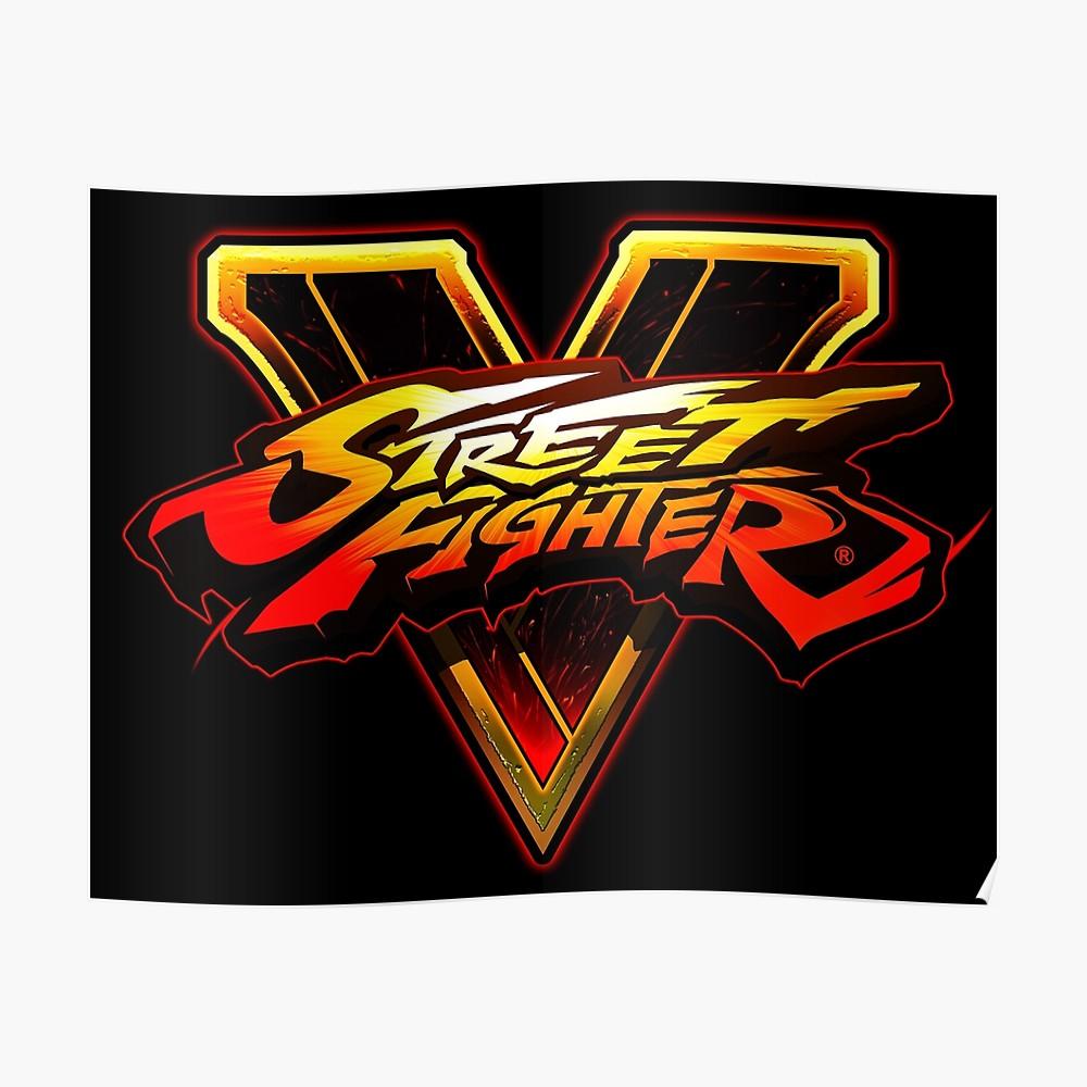 Straßenkämpfer V Logo Design.