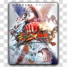 Zakafein Game Icon , Steet Fighter X Tekken, Street Fighter.