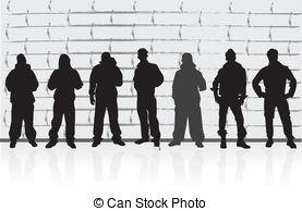 Street Gang Clipart.