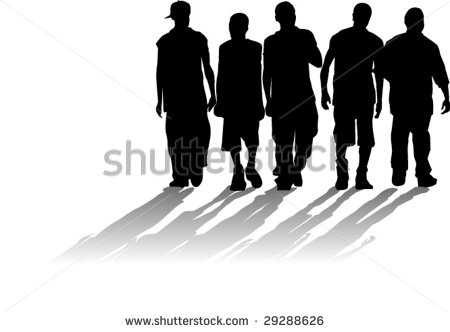 Teen Silhouettes Stock Photos, Images, & Pictures.