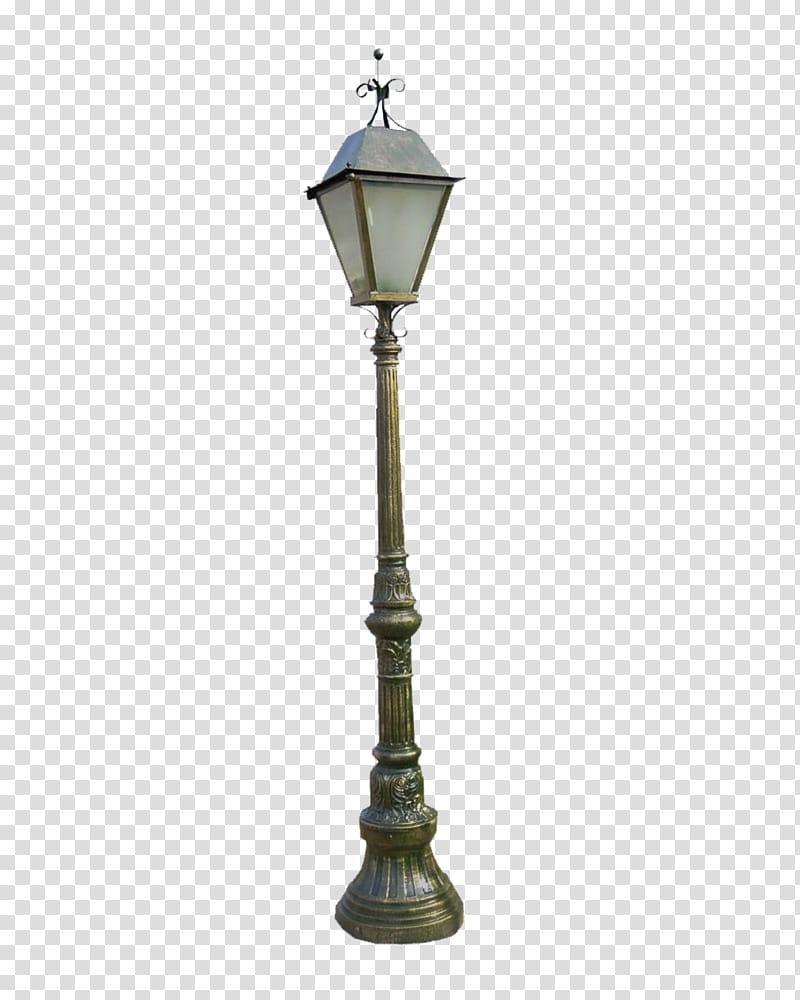 Lamp , black steel street lamp transparent background PNG.
