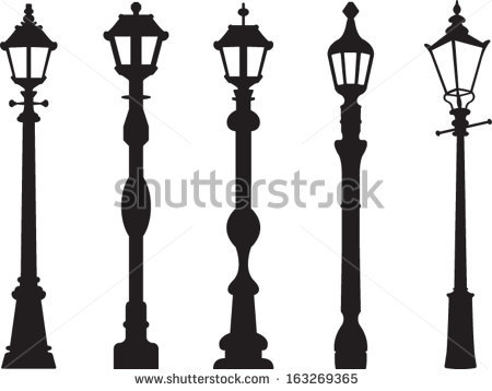 Street Lamp Vector.