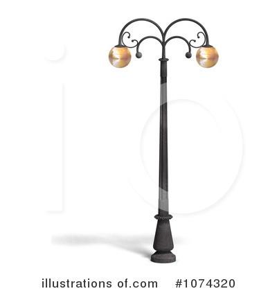 Street Light Clipart #1074320.