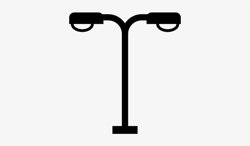 Lamp Post Vector.