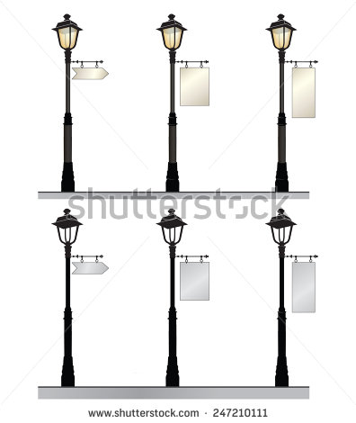 Modern Street Lamp Stock Photos, Royalty.