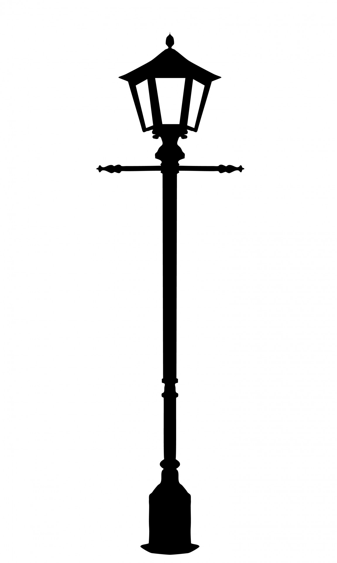 Vintage Street Lighting Clipart Free Stock Photo.