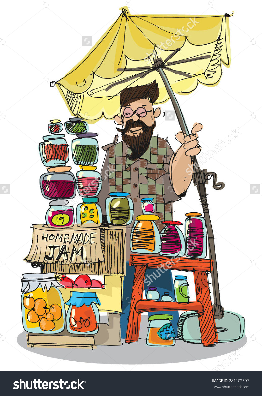 Flea Market Pictures Clip Art