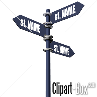 street name sign clipart clipground