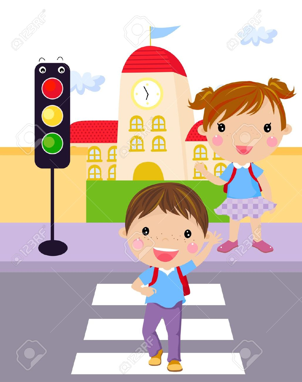street safety clipart clipground