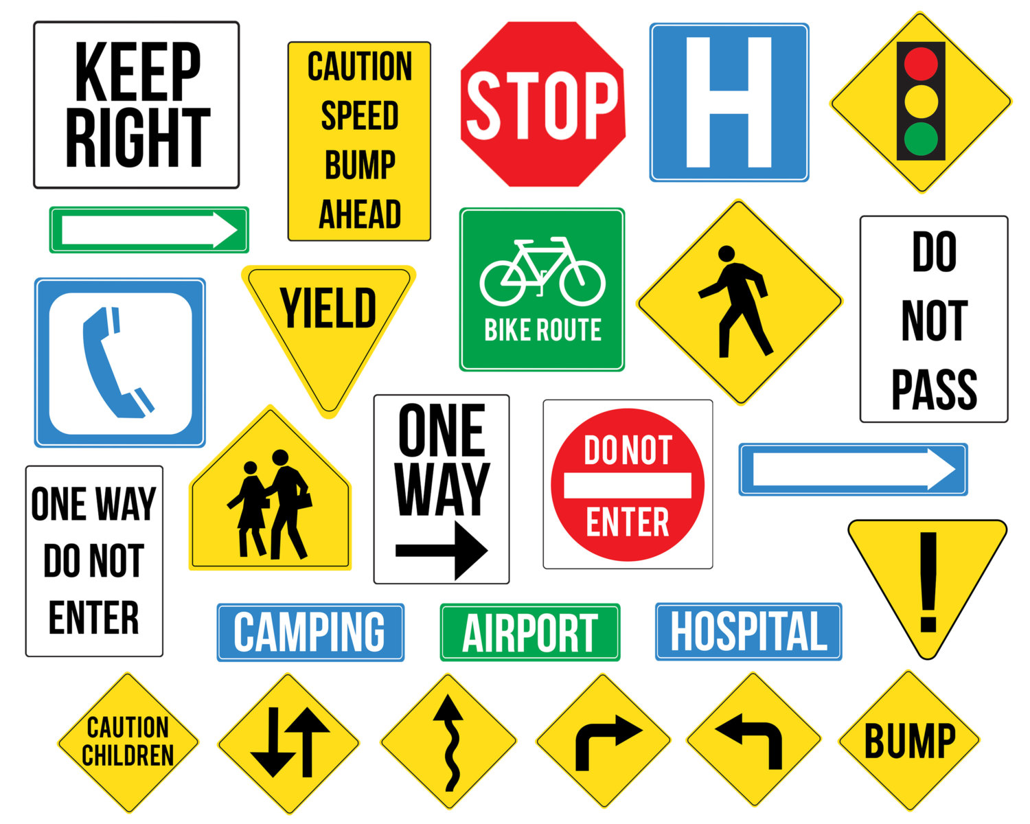Signs clipart.