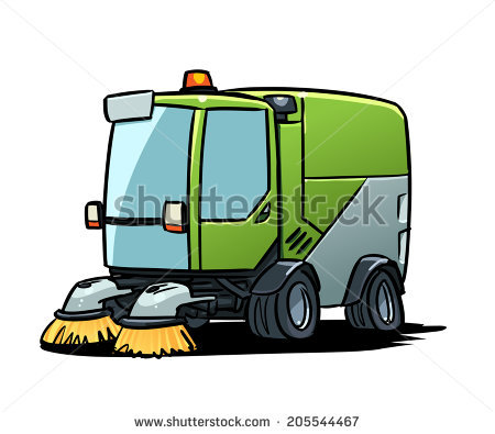 Road Sweeper Stock Photos, Royalty.