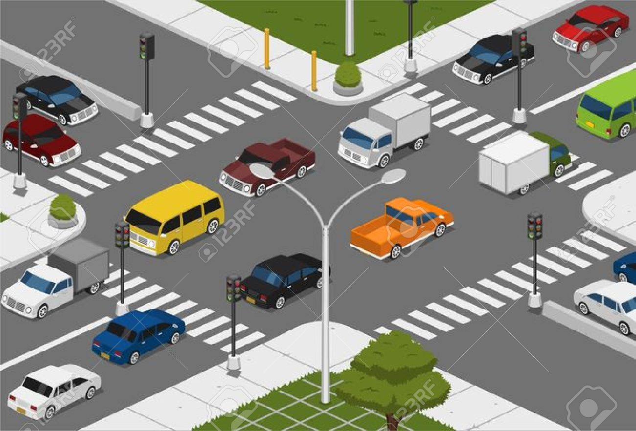 Street Traffic Clipart Clipground