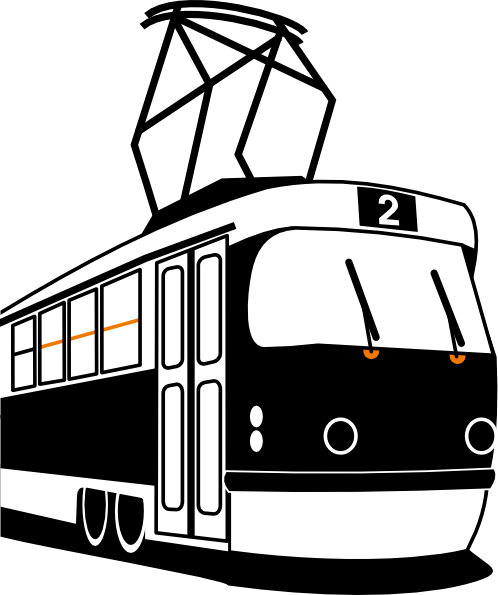 Streetcar Clipart.