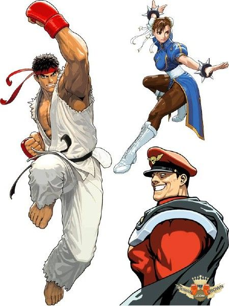 Street fighter clipart.