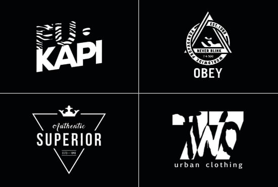 do logo design for your clothing brand or streetwear line.
