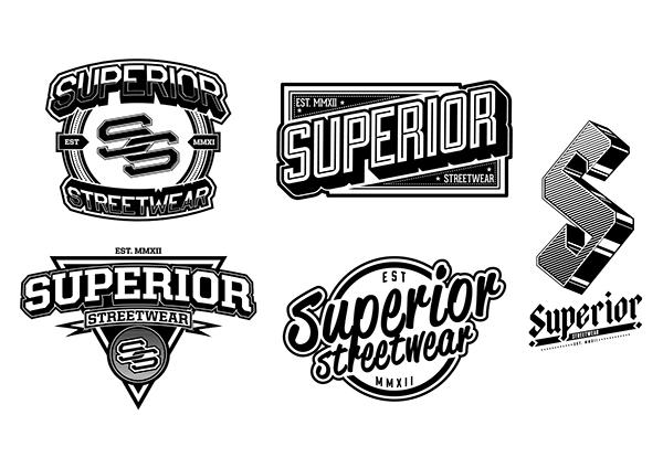 LOGO : Superior Streetwear Clothing Co. on Behance.
