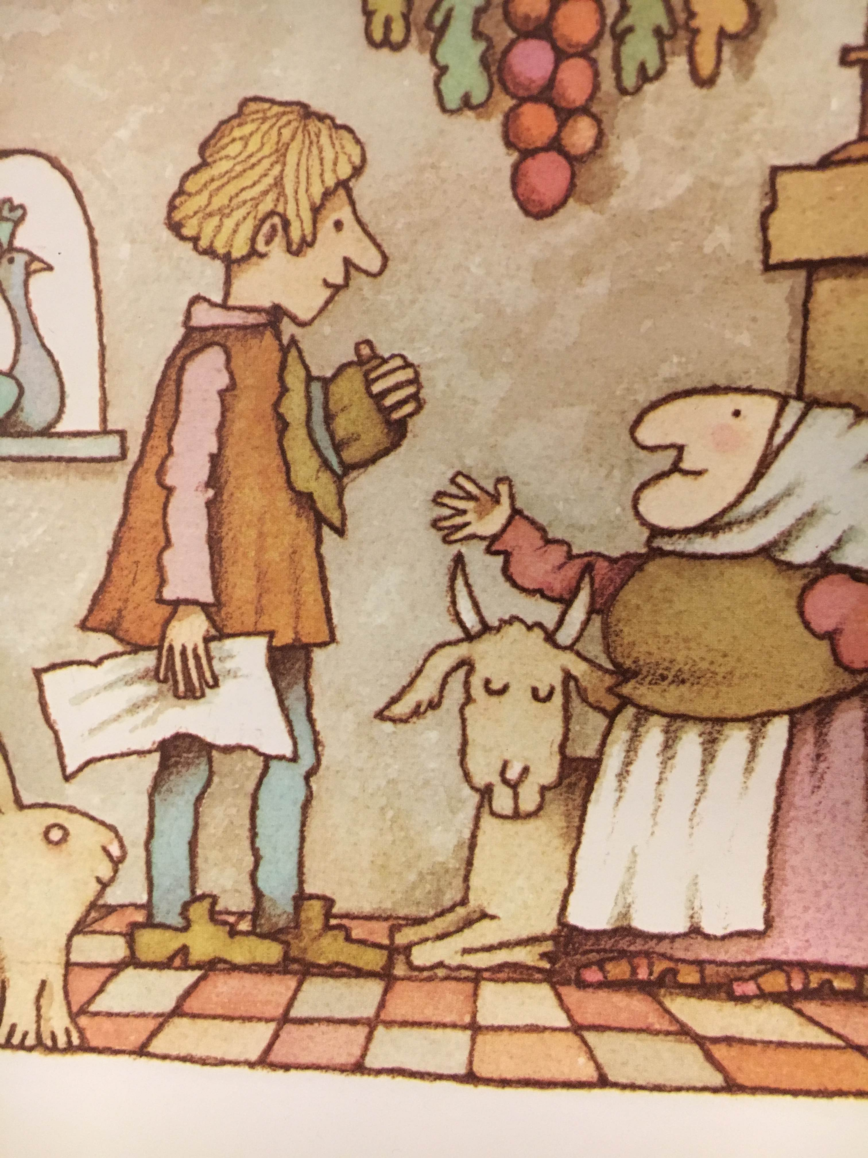 Fuse 8 n\' Kate: Strega Nona by Tomie dePaola.