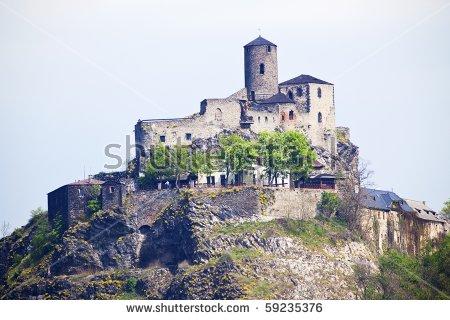 Country Rocchette Sabina Province Rieti Lazio Stock Photo.